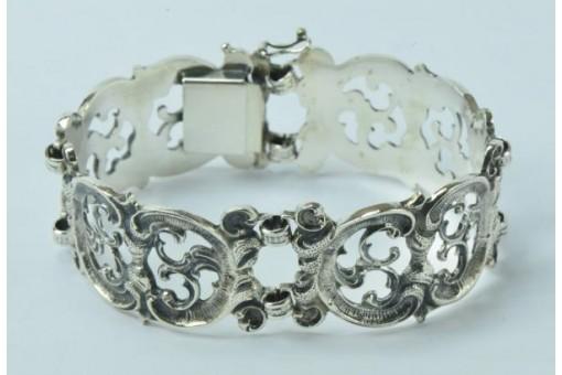 Silberarmband Trachten Armband in aus 835er Silber silver bracelet