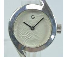 Damen Armbanduhr Silber
