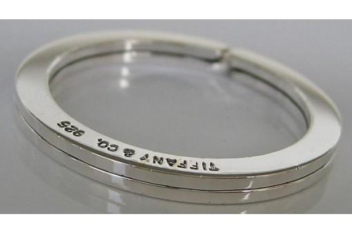 Schlüsselring 925 Silber Marke Tiffany & Co. Silver Schlüssel key ring