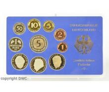 Coin Münzen Kursmünzensatz KMS 1995 G polierte Platte BRD