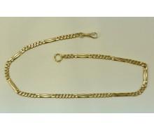 Taschenuhrkette Uhrenkette in 14 Kt. 585 Gold 44,5 cm Pocketwatch Chain