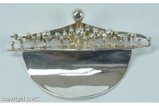 Brosche Marke RELO Silberbrosche in aus 925 Silber silver brooch